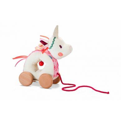 Lilliputiens - Zabawka do Ciągnięcia na Sznurku Jednorożec Louise