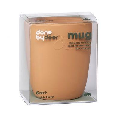 Done By Deer - Kubek Silikonowy Mini Mustard