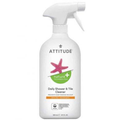 Attitude - Płyn do Czyszczenia Prysznica Skórka Cytrynowa Citrus Zest 800 ml