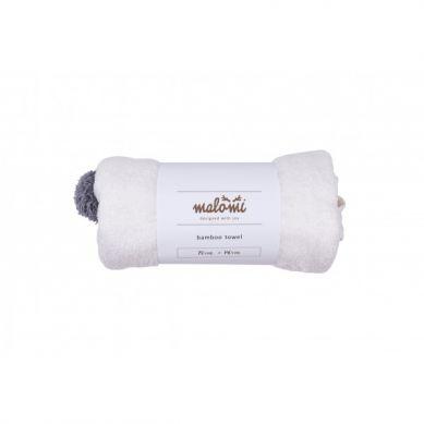 Malomi Kids - Ręcznik Bamboo Ecru M