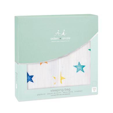 aden + anais - Śpiworek Muślinowy Colour Pop Stars L
