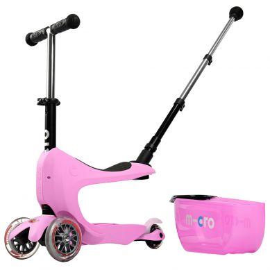 Micro - Hulajnoga Mini2Go Deluxe Plus Pink