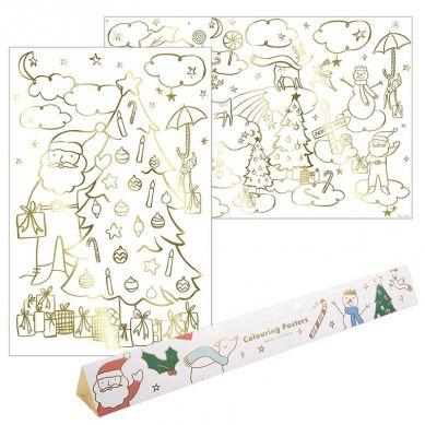 Meri Meri - Plakaty Kolorowanki Boże Narodzenie
