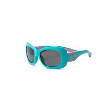 Real Kids - Okularki dla Dzieci Breeze Polarized Aqua and Pink 7+