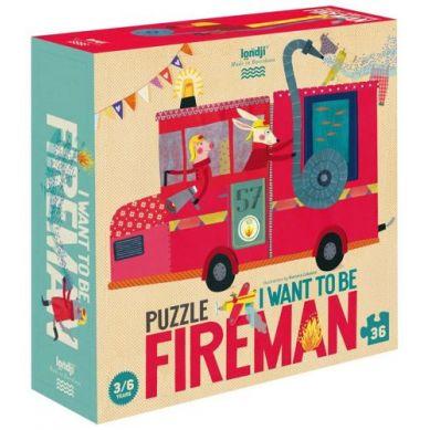 Londji - Puzzle I Want to be Fireman