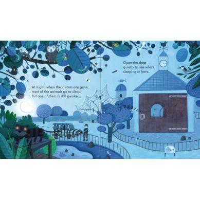 Wydawnictwo Usborne Publishing - Peep Inside The ZOO