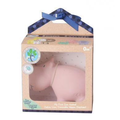 Tikiri - Zabawka Gryzak Zoo Hipoptam w Pudełeczku