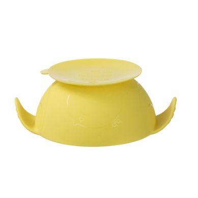 B. Box - Silikonowa Miseczka z przyssawką i łyżeczką Lemon Sherbet