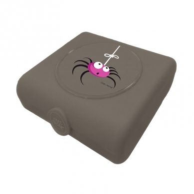 Carl Oscar - Kids Sandwich Box Pojemnik na Przekąski i Kanapki Grey Spider