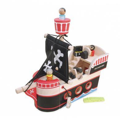 Indigo Jamm - Drewniany Statek Piracki Jolliego Jacka 18m+
