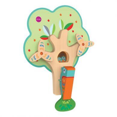 Oribel - Zabawka Zapracowany Pan Dzięcioł VertiPlay