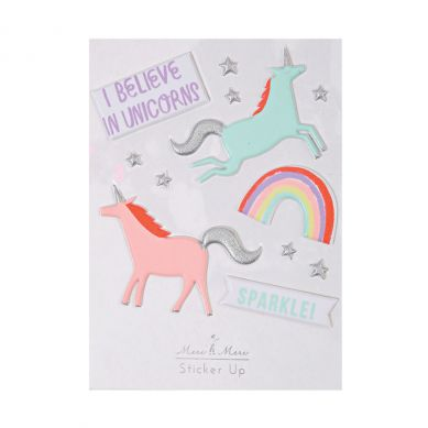 Meri Meri - Zestaw Naklejek Unicorns