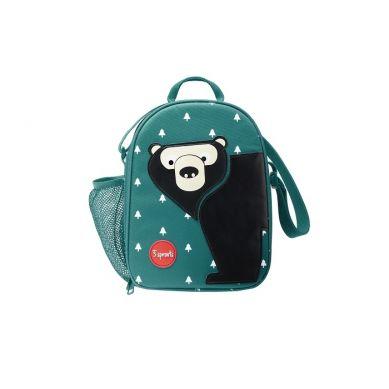 3 Sprouts - Lunch Bag dla Dzieci Miś