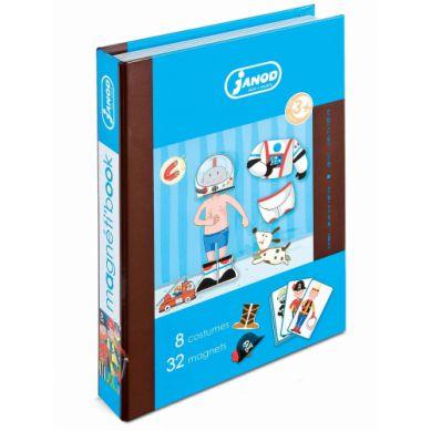 Janod - Magnetyczne Pudełko - Chłopiec