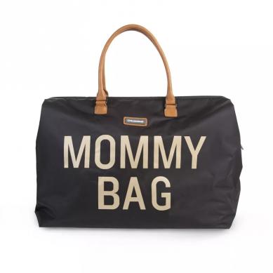 Childhome - Torba Podróżna Mommy Bag Czarno-Złota