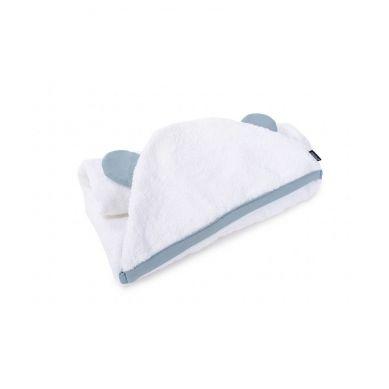 Poofi - Ręcznik Teddy dusty blue