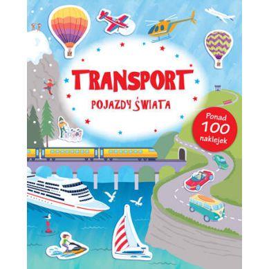 Wydawnictwo Smart Books - Transport Pojazdy Świata Poznaję Świat + Naklejki