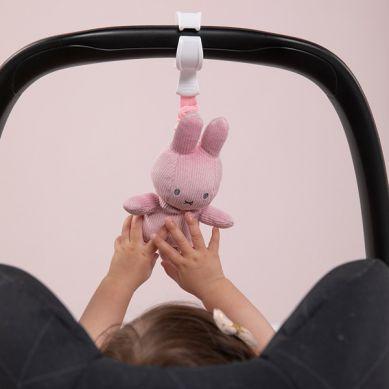 Tiamo - Zawieszka Wibrująca Miffy Pink Babyrib 0m+