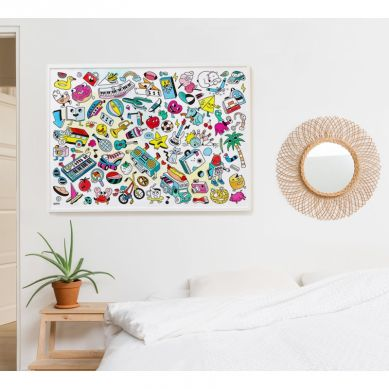Omy - Kolorowanka Pop Art 100x70cm