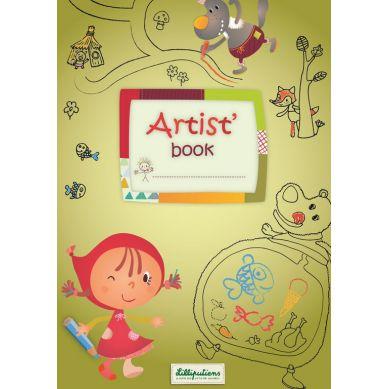 Lilliputiens - Artist Books Kolorowanka Forest