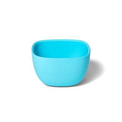 Avanchy - La Petite Silikonowa Miseczka dla Dziecka 4m+ Blue