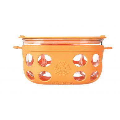 Lifefactory - Pojemnik na żywność 950ml Orange