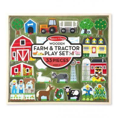 Melissa & Doug - Drewiania Farma i Traktor