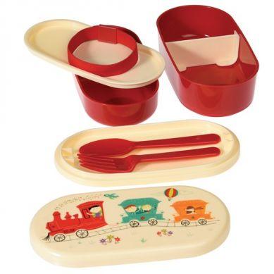 Rex - Dwupoziomowy Lunchbox Party Train