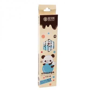 Rex - Zestaw Ołówków w Pudełeczku Choco Panda