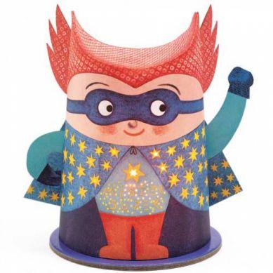 Djeco - Lampka Nocna Mister Super