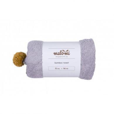 Malomi Kids - Ręcznik Bamboo Grey M