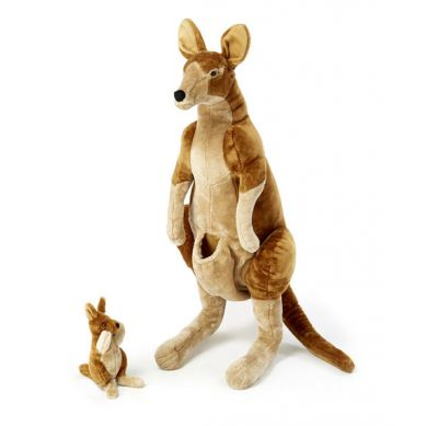 Melissa & Doug - Ogromna Przytulanka Kangaroo and Joey 3+