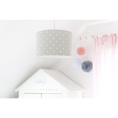 Lamps&co. - Lampa Wisząca Lovely Dots Grey