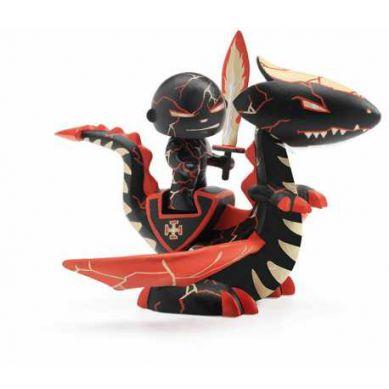 Djeco - Figurka Rycerz Drago na Smoku