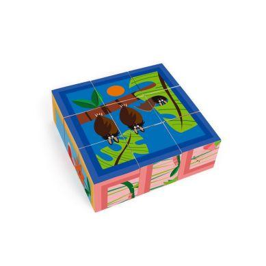 Scratch - Puzzle 9 Klocki Dżungla 18m+