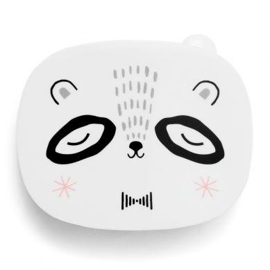 Petit Monkey - Lunchbx Mr Panda Black