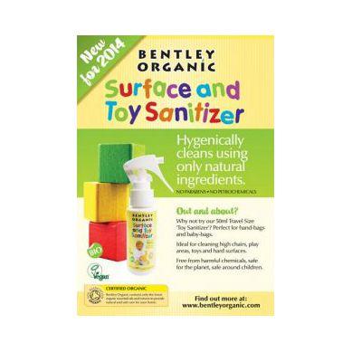 Bentley Organic - Dziecięcy Spray Dezynfekujący do Mycia Zabawek MINI 50ml