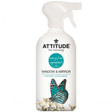 Attitude - Płyn do Mycia Okien, Szkła i Lustra 800 ml