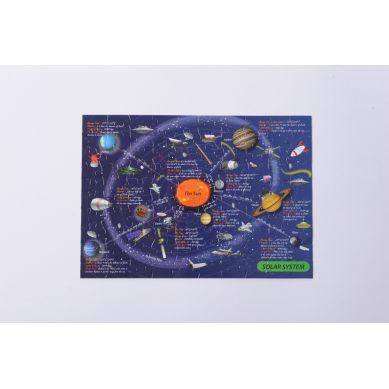The Purple Cow Puzzle Mapa Kosmosu