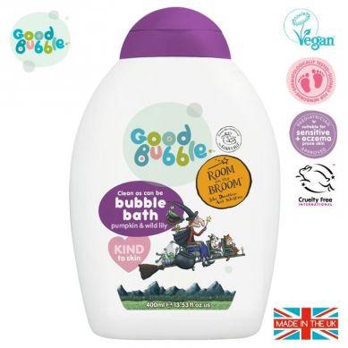 Good Bubble - Organiczny Płyn do Kąpieli Noworodka i Niemowlaka Pumpkin & Wild Lily 400 ml