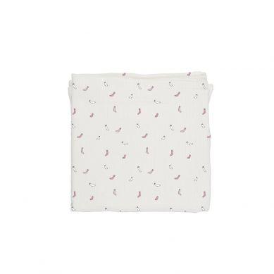 Baby Bites - Pieluszka Muślinowa 120x120 cm Socks White