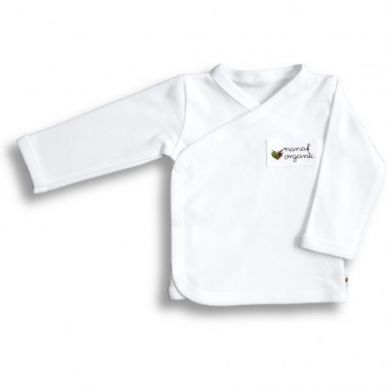 Nanaf Organic - Kaftanik Kimono Basic Biały 56cm