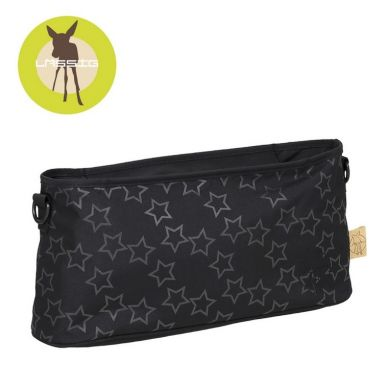 Lassig - Organizer do Wózka Casual Label Reflective Star black