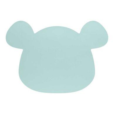 Lassig - Silikonowa Mata Podkładka Little Chums Mysz Niebieska