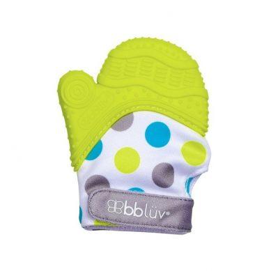 Bblüv - Rękawiczka-gryzaczek Glüv Limonkowa