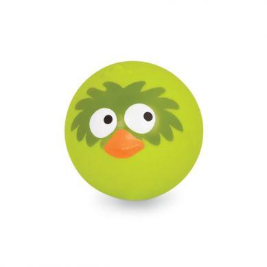 B.Toys - Sprężysta Piłka Wydająca Zabawne Ptasie Odgłosy Limonkowa