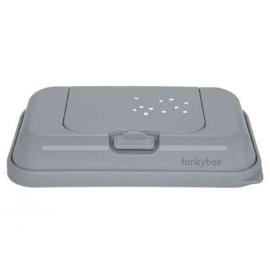 Funkybox - Pojemnik na Chusteczki To Go Grey Little Stars