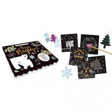 Auzou - Wydrapywanka Magiczna Zima 5+