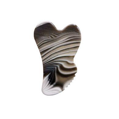 Lullalove - Kamień do Masażu Gua Sha Krzemień Pasiasty