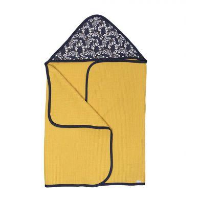 Muzpony - Duży Ręcznik Kąpielowy z Kapturem Hanami 140x70cm